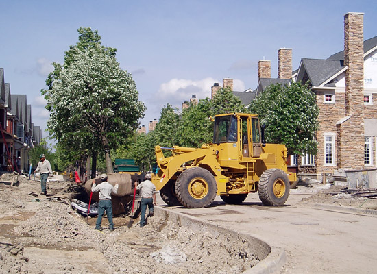 Commercial Landscape Construction